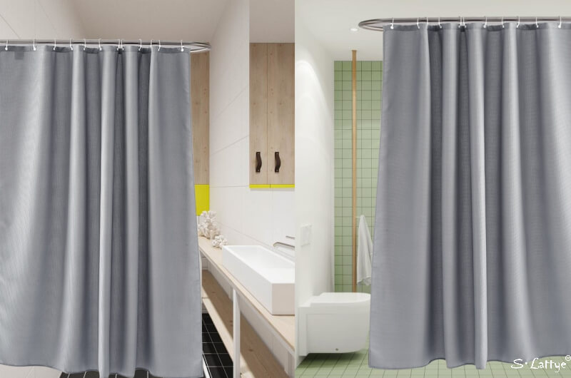 The first step to knowing how to pick better quality shower curtains