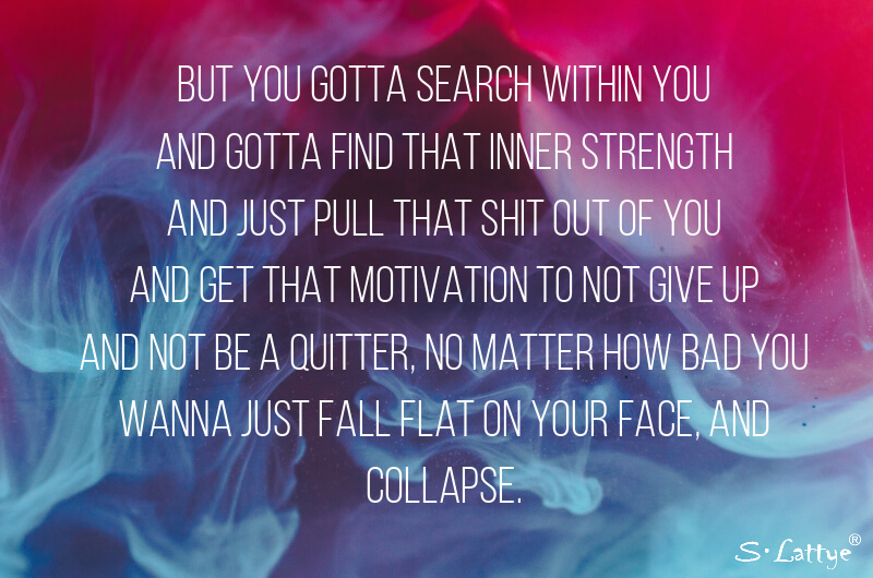 eminem Till I collapse flow