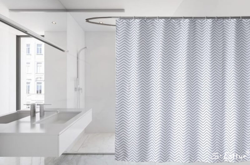 extra tall shower curtain