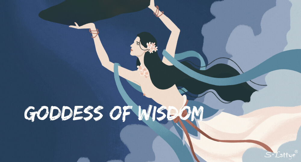 goddes of wisdom from chinese fairy tale